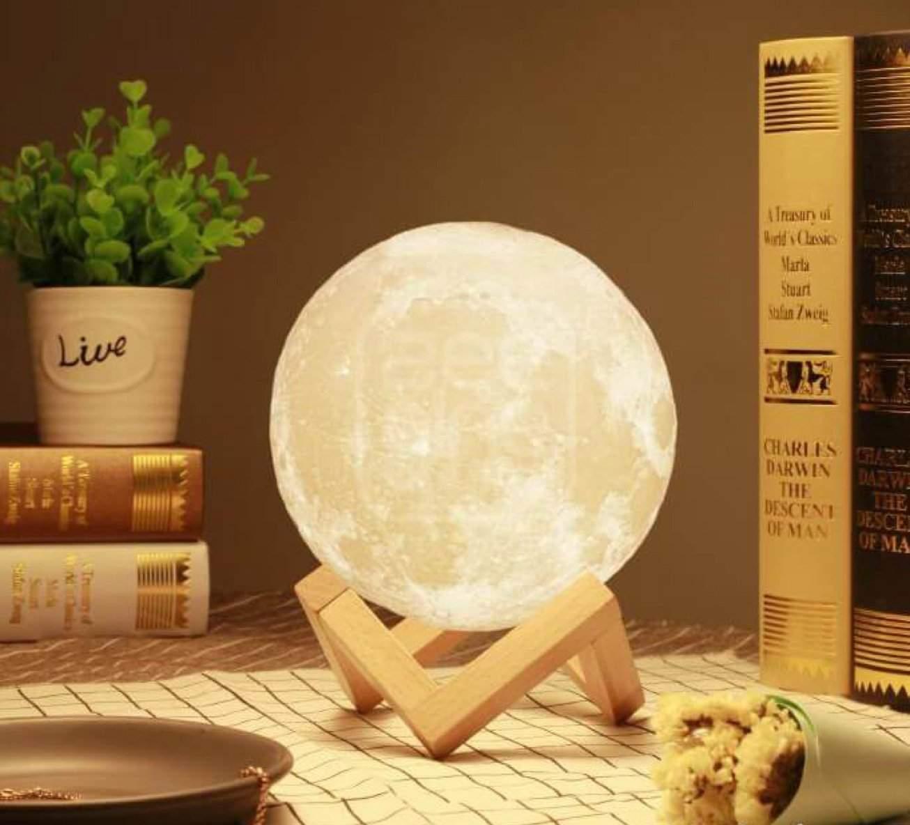 lampe 3d lune
