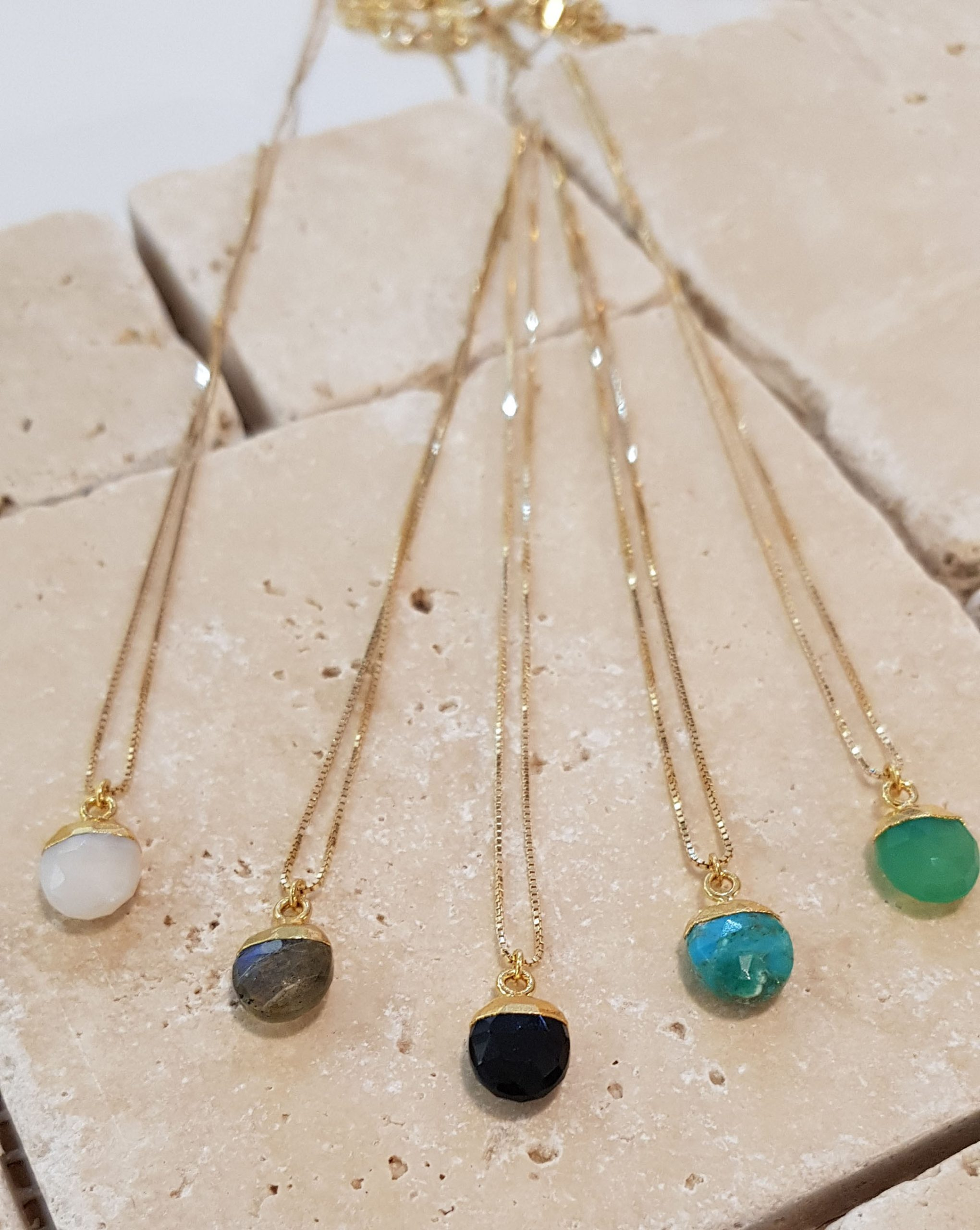 bijoux pierres semi précieuses