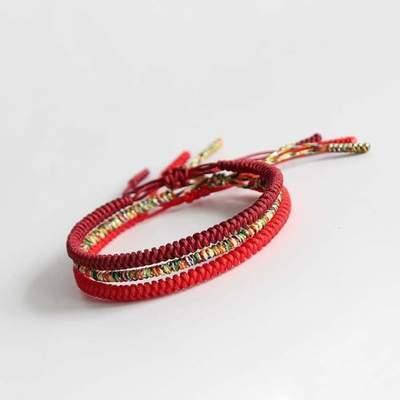 bracelet bouddhiste porte-bonheur