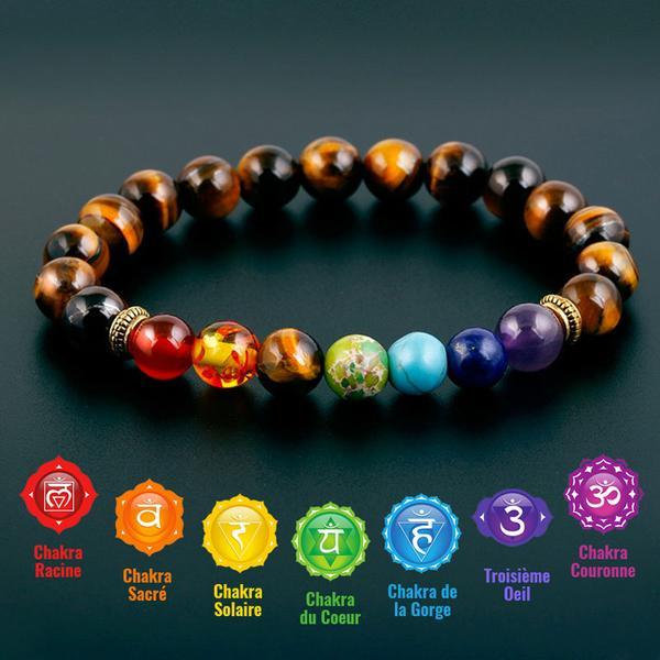 bracelet les 7 chakras