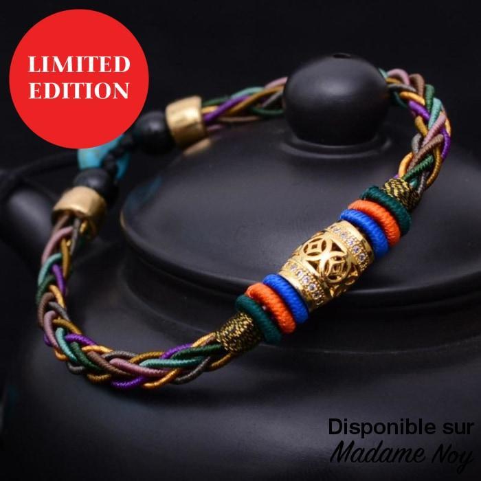 bracelet thailandais porte bonheur