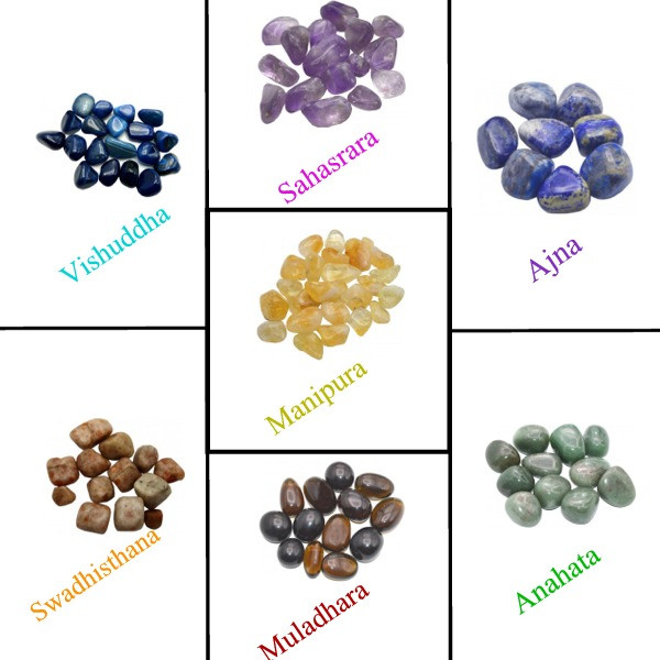 7 chakras pierre