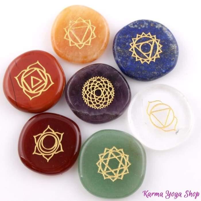 7 pierres chakra
