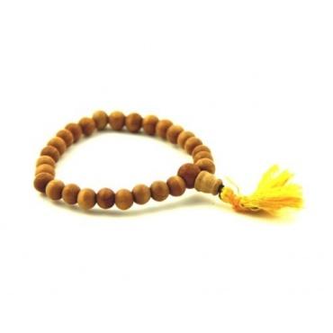 bracelet mala bois
